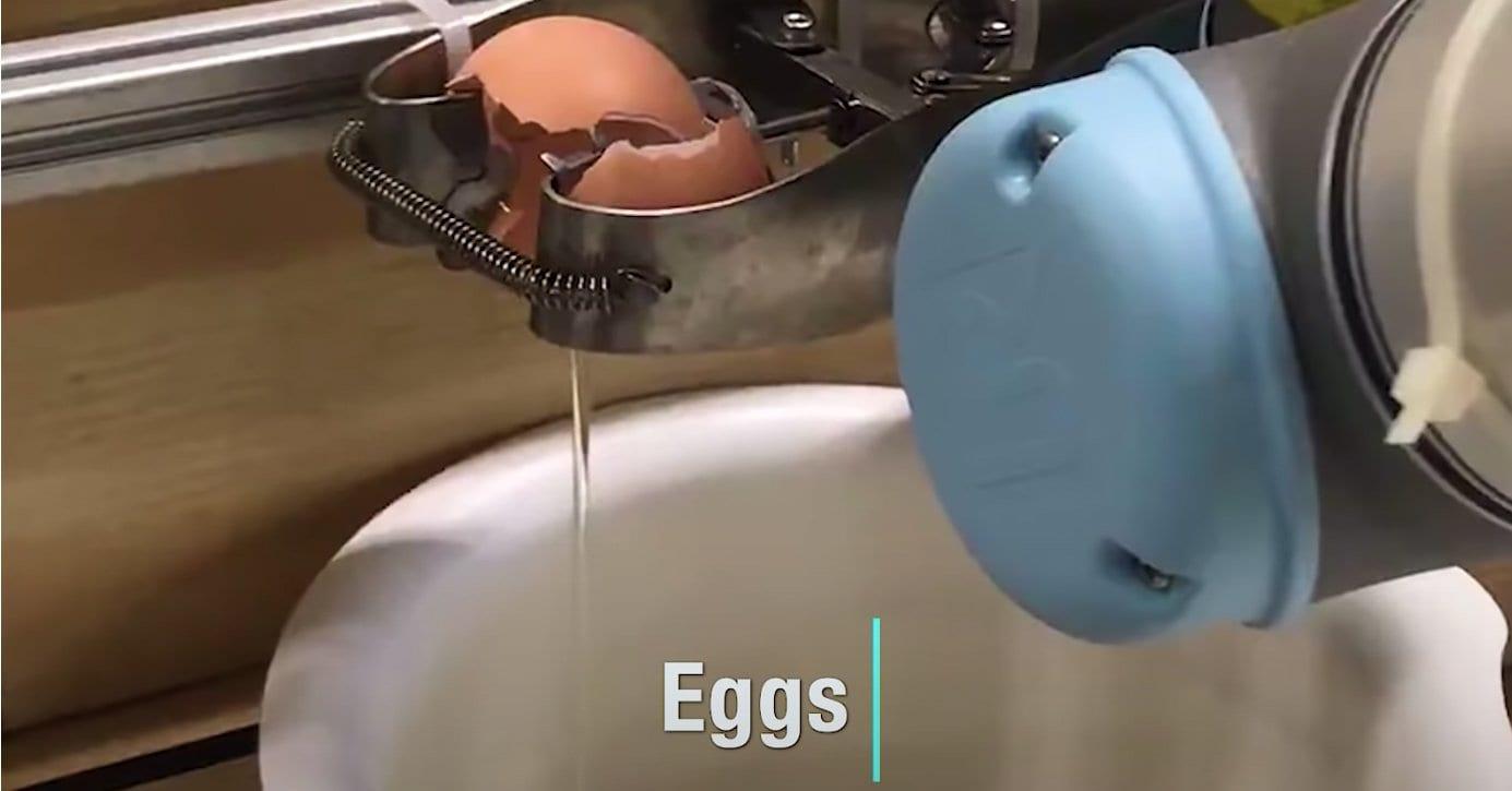 a robotic egg machine