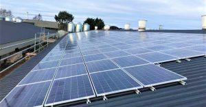 solar power on a poultry farm
