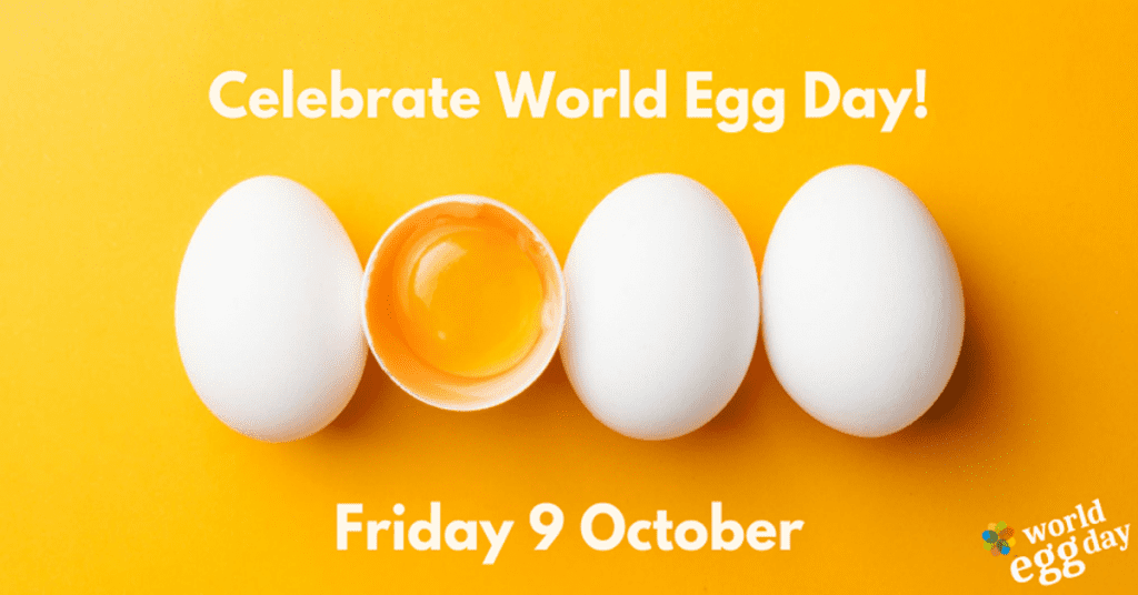 world egg day promotional poster