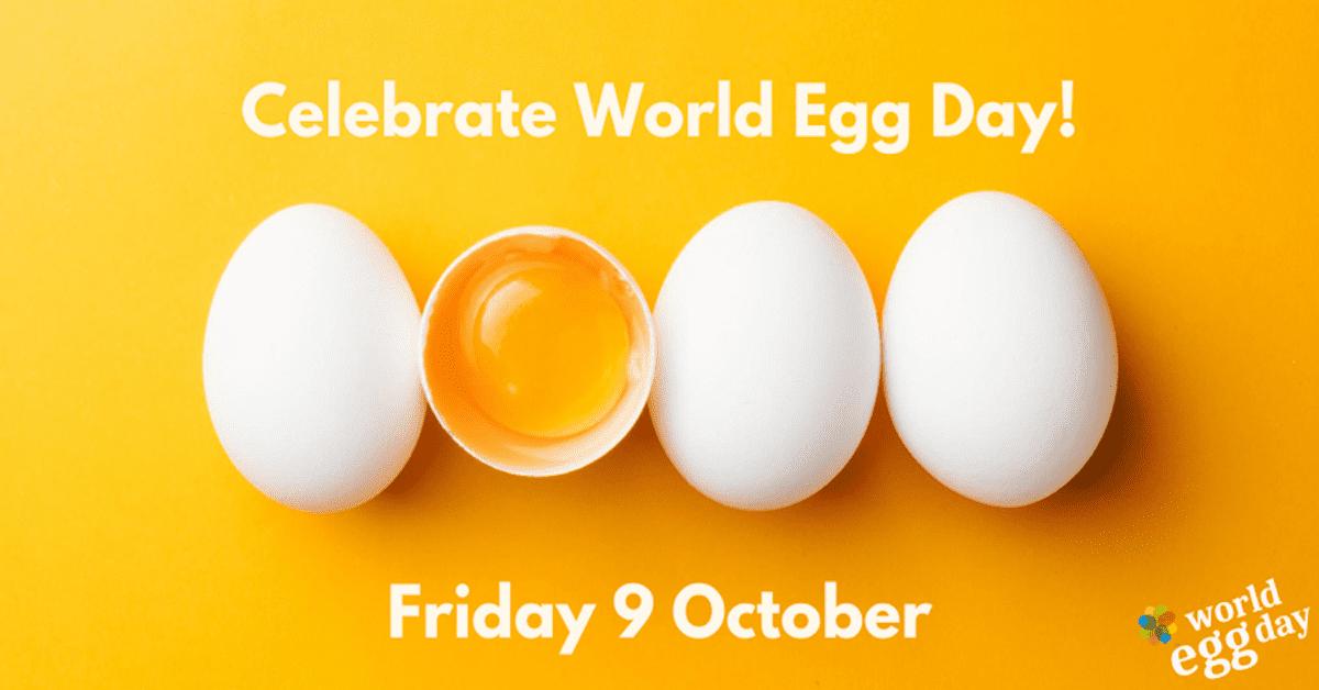 world egg day promotional poster