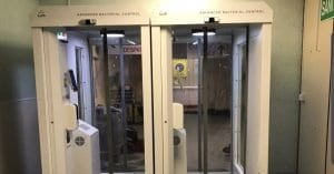 new disinfection booths at banham poultry