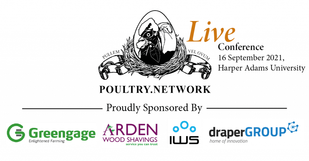 conference logo with sponsores IWS drapgergroup arden woodshavings and Greengage